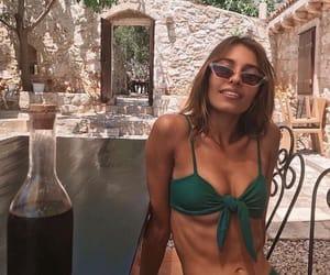 bikini, holiday, and summer image