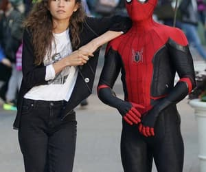 spiderman and tom holland image