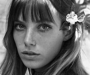 beautiful, jane birkin, and black white image