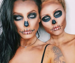 halloween makeup and youtuber image