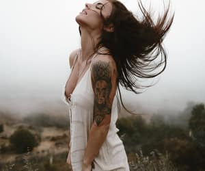 tattoo girls, love follow style, and photography body girls image