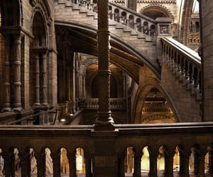 harry potter, architecture, and hogwarts image