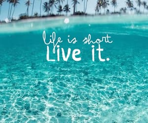 life, quotes, and water image