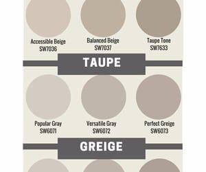 beige, greige, and color image