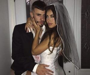 couple, claudia tihan, and Halloween image