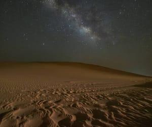 desert, night, and stars image