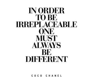 chanel, quotes, and words image