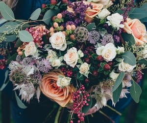 beauty, flower, and bouquet image