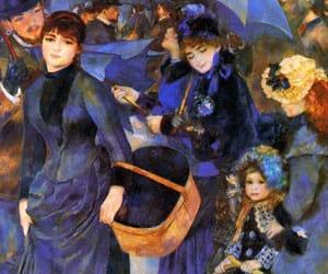 umbrella, Renoir, and art image