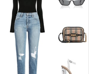 Burberry, outfits, and Polyvore image