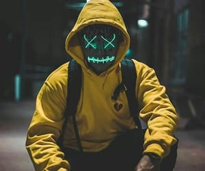 blue, grunge, and hoodie image