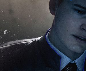 android, background, and Connor image