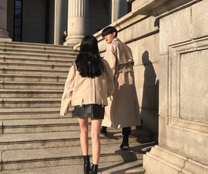 couple, beige, and ulzzang image