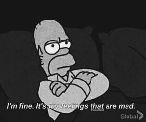 simpsons, feelings, and mad image