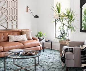 bright, magnolia, and couch image
