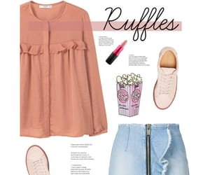 clothes, fashion, and ruffles image
