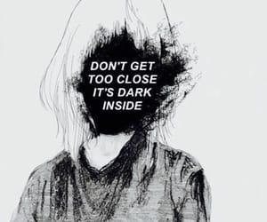 dark, demon, and quotes image