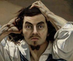 caravaggio and mr bean image