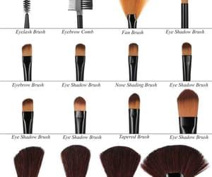 makeup, brochas, and love image