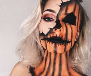 Halloween, makeup, and aesthetic image