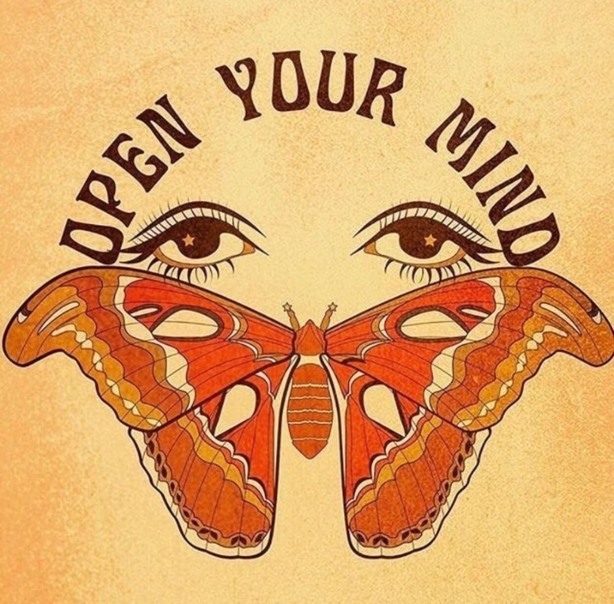 butterfly, hippie, and quotes image