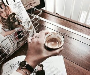 coffee, accessories, and fashion image