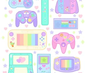 colours, kawaii, and nintendo image