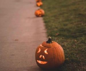 Halloween, orange, and party image