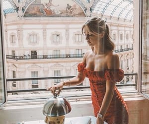 breakfast, fashion, and style image