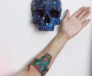 art, body modification, and drawing image