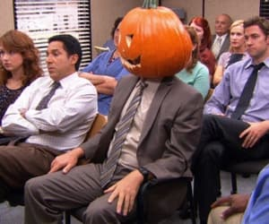Halloween, pumpkin, and the office image