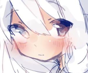 anime, doodle, and girl image