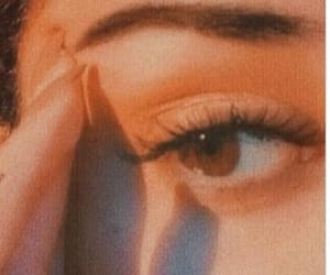 beautiful, beauty, and brown eyes image