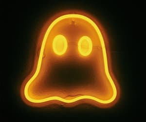 Halloween and neon image