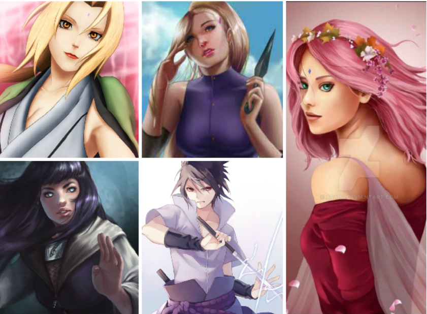 article, sakura, and kunoichi image