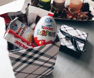 birthday, chocolate, and gift image