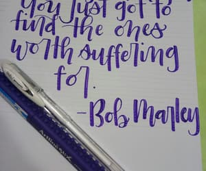 calligraphy, handlettering, and quote image