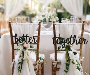 happily ever after, dbetter together, and wedding inspiration image