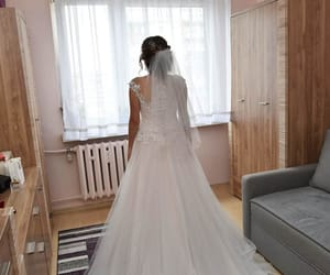 beauty, wedding, and perfect day image