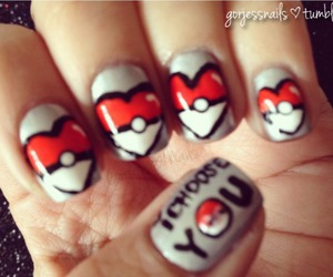 nails art pokemon image