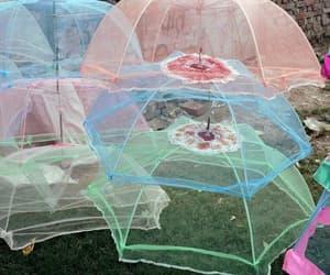 umbrella, aesthetic, and pastel image