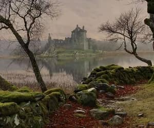 castle, ruins, and scotland image
