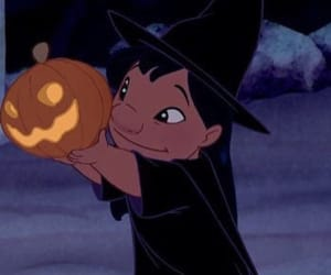 disney, Halloween, and lilo image