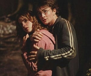 harry potter, hermione granger, and harmione image