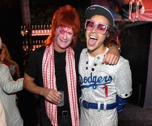 Harry Styles, Halloween, and elton john image