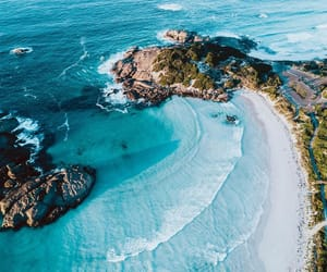 sea, nature, and summer image