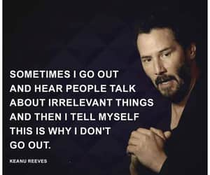 keanu reeves, quote, and words image
