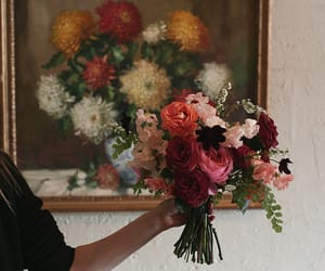flowers, art, and tumblr image