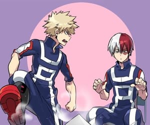 boku no hero academia, my hero academia, and todoroki shouto image