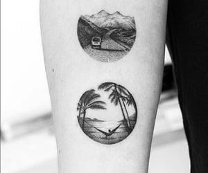 tattoo and beach image